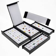 Diamond Display Tray Stone Storage Case Gem Box Jewelry Holder Gems Organize