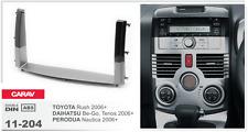 CARAV 11-204 Aftermarket Car Radio Install Dash Kit Fits for TOYOTA Rush 2DIN