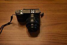 Samsung NX1000 20.3MP Digital Camera - Black (Kit w/ 20-50mm Lens) w/ Viewfinder