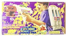 Vintage 1998 Super Soaker Super Charger Power Pak Water Gun Larami New Sealed