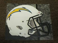 """LOS ANGLES CHARGERS HELMET NFL Fathead Wall Graphics 11"""" x 9""""  (Poster/Sticker)"""
