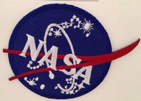 """NASA Patch 3"""" Blue Red Vintage"""
