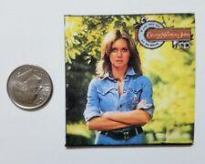 Miniature record album Barbie Gi Joe 1/6    Playscale Olivia Newton John Mellow