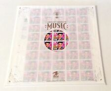 40-STAMP SHEET-  ELVIS PRESLEY -commerative edition-- 29 CENTS EACH   year 1993