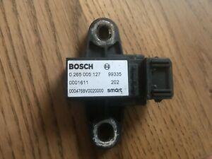 Original Smart fortwo 450 Querbeschläunigungssensor 0004768V002 0256005127