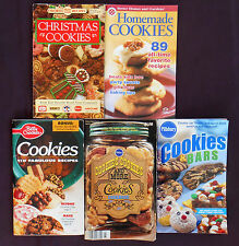 5 PILLSBURY Betty Crocker BAKING COOKIES BROWNIES DESSERTS Cookbooks Booklets
