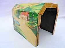 VINTAGE BRIMTOY LITHO PRINTED TINPLATE TWO PIECE O GAUGE TUNNEL EXCELLENT CONDIT