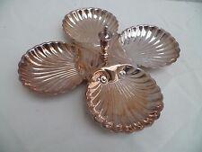 Ancien art de la table Silver plate Mendiant style Louis XV en argent plaqué