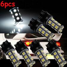 6X White 3157 5050 18-SMD Reverse Backup LED Light Bulb 3156 3057 3456 3757 4114