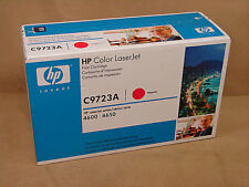 HP C9723A Magenta Print Cartridge Genuine Factory Sealed for HP 4600, 4650 OEM