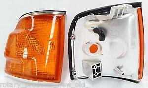 HOLDEN ISUZU TFR RODEO 1988 - 2002 FRONT CORNER INDICATOR LIGHTS LAMPS PAIR 422