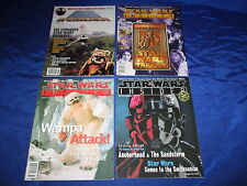 Star Wars Insider (1994) #31 32 33 35 Official Star Wars Fan Club Magazine Fine