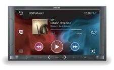 """Philips 2-DIN 6.8"""" LCD Touch Screen Car Audio System USB/FM/AM/Bluetooth CE600BT"""