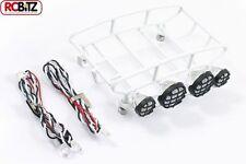 Fastrax piccolo arrotondato bagagli vassoio con 4 set di luce bianco FAST308-SW Rack FTX RC