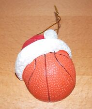Christmas Ornament Basket Ball Santa Hat one sided personalized by you DIY