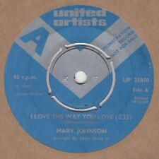 Marv Johnson I Love The Way You Love United Artists Demo UP 35010 Soul Northern
