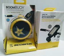 SCOSCHE Combo Pack. BoomBUOY and Handlebar Mount for Mobile Devices.