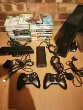 Xbox 360 console bundle with 25 games, kinect & 2 controllers 250gb