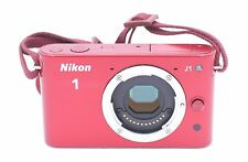 Nikon 1 J1 10.1 MP Digital Camera - Red (Body Only)