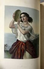 1st Edition   Hand-Colored Plates   Women of the Old and New Testament   1850