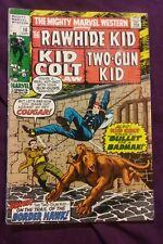 MIGHTY MARVEL WESTERN #10 vg/fn 5.0  RAWHIDE KID / KID COLT / TWO-GUN KID 1970