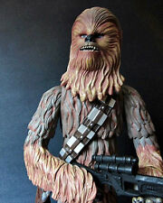 "1/6 14"" Star Wars Awaken Chewbacca by Kenner for Sideshow Hot Toys Han Solo luke"
