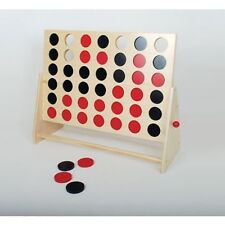 4 In a Row - Large,Wooden Game Toy, Nostalgic, Dementia/Alzheimer, Activities