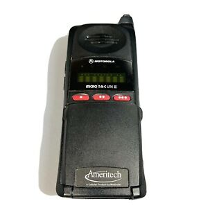 Motorola MicroTAC LITE mobile phone, working, classic, Good Conditions As It Is
