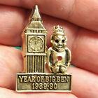 ROYAL ORDER OF JESTERS lapel pin, Year of Big Ben, 1989-1990 Bilikin ROJ Pin
