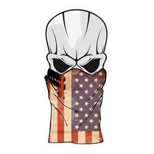 foulard moto usa drapeau  tour de cou bandana chopper custom face mask flag u s