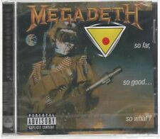 MEGADETH SO FAR, SO GOOD...SO  CD F.C.CAPITOL SIGILLATO!!!