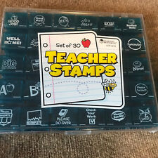 Learning Resources Jumbo Teacher Stamps, Set of 30
