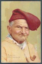 SARDEGNA ? ? NAPOLI ? ? NON LOCALIZZATA - COSTUME COSTUMI PIPA 1903 Cartolina