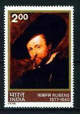 India Arts Rubens Famous Paintings stamp 1978 MLH