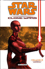STAR WARS  :CLONE WARS  N° 8  obsession   EDITIONS   DELCOURT