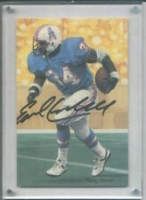 EARL CAMPBELL PRO FOOTBALL HALL OF FAME PACKAGE