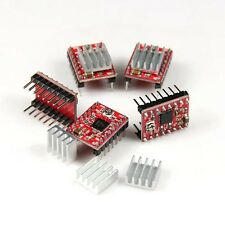 5pcs A4988 StepStick stepper driver with heatsink for 3D printer Free shipping!