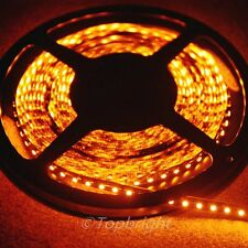 5X 5m 500CM ORANGE 3528 SMD LED Flexible 600 LEDS Strip