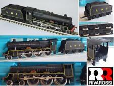 RIVAROSSI RARO VINTAGE LMS Jubileo 4-6-0 Steam Locomotive N21 Fama CAJA ESCALA N