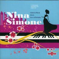 Nina Simone - Gifted & Black /  Live at Berkeley (2009)  CD  NEW  SPEEDYPOST