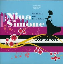 Nina Simone - Gifted & Black /  Live at Berkeley (2009)  CD  NEW  SPEEDYPOST