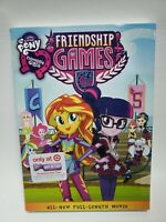 My Little Pony Equestria Girls DVD - Friendship Games Movie New Sealed