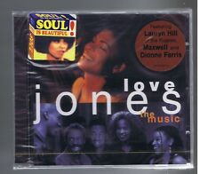 LOVE JONES OST CD (NEW) DIONNE FARRIS LAUREN HYLL MAXWELL XSCAPE