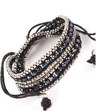 Gold Coloured Rhinestone Fashion Bracelets
