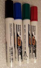 4 Feutres Marqueurs Effaçables pour Tableau Blanc Whiteboard Velleda 4 Couleurs