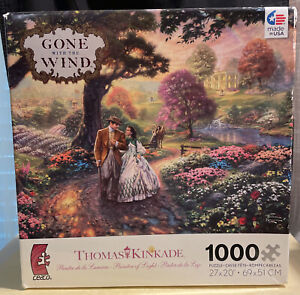 Thomas Kinkade Gone With The Wind 1000 Piece Jigsaw Puzzle Sealed New In Box