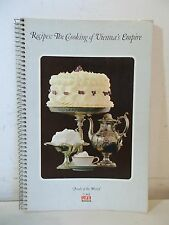 TIME LIFE Recipes: The Cooking of Vienna's Empire Spiral Bound Cookbook 1968
