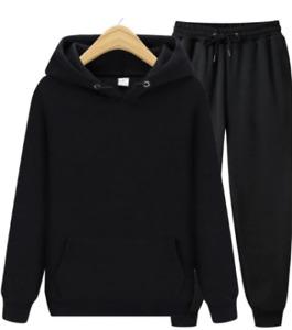 Men's Sets Hoodies+Pants Autumn Winter Hooded Sweatshirt Sweatpants Fashion