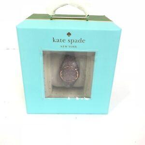 KATE SPADE WOMEN GOLD TONE GLITTER SCALLOP ACTIVITY TRACKER KSA31205 New $98