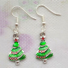 1 pair Women Ornament Fashion Accessories Charm Jewelry Christmas tree Earring